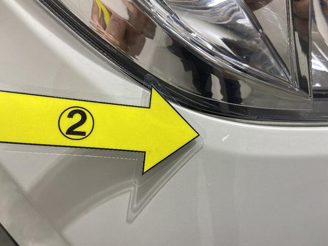 2、Fバンパー タッチペン跡複数 ※掲載写真以外にも、年式や走行距離に応じた微細な傷がある場合がございます。予めご了承ください。