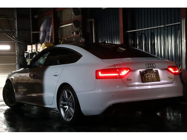 2.0TFSIクワトロ4WD本州仕入xKW車高調x黒革シート(4枚目)