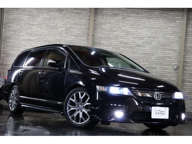 アブソルートHDDナビスペシャルエディション 4WD 本州仕入 HIDヘッド イエローフォグ 黒革調シートカバー 純正17AW 本革巻きステア MTモード HDDナビ ミュージックサーバー クルーズコントロール ミラーヒーター タイミングチェーン(28枚目)