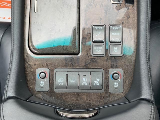 LS600h バージョンU Iパッケージ4WD本州仕入(20枚目)
