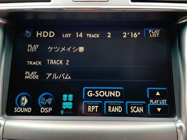 純正HDDナビ装備♪音楽録音機能付きです♪