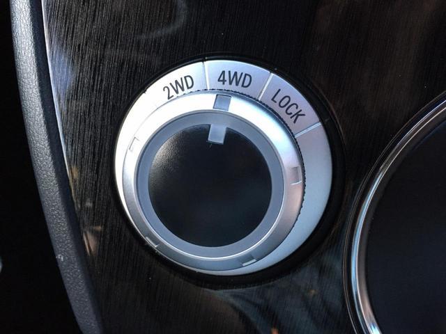電子制御4WD機構♪2WD・4WDオート・4WDロックの切替をセレクトダイヤルで簡単に行えます(*'▽')