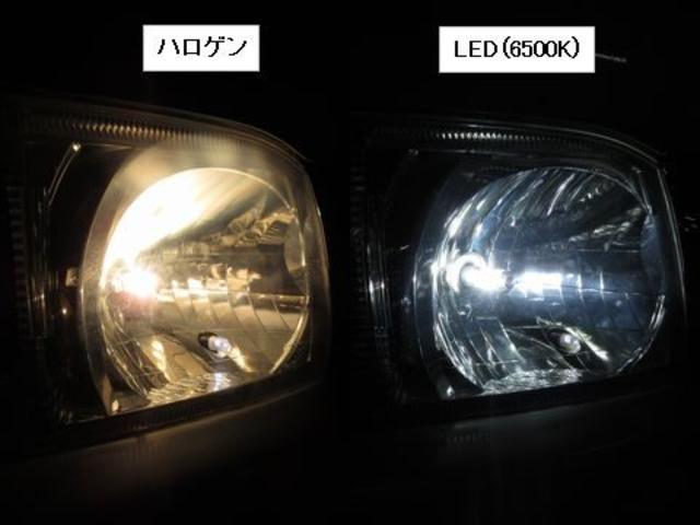 LEDフォグに別途交換交換も可能♪暗い夜道のドライブも安心(*'▽') HIDと違いライトを点灯した瞬間から最大の光量を発揮(*'▽') STARC AUTO人気オプションです(*'▽')