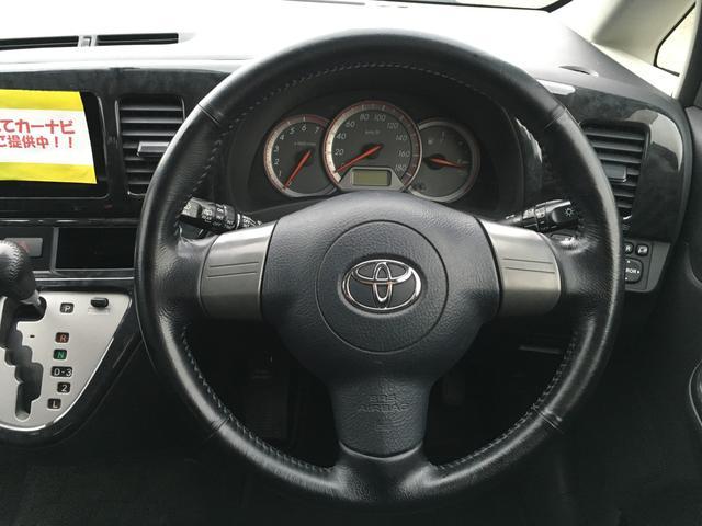 トヨタ ウィッシュ XエアロスポーツLTD 後期型 4WD タイミングチェーン