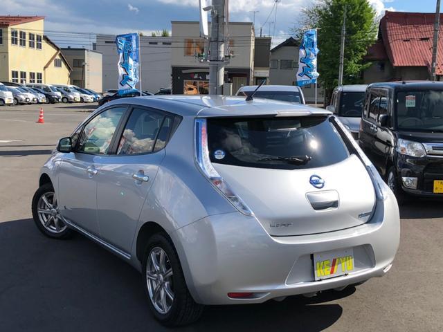 X電気自動車 スタッドレス夏タイヤセット フルセグSDナビ(6枚目)