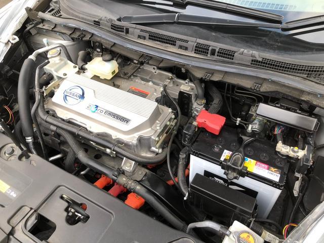 X電気自動車 スタッドレス夏タイヤセット フルセグSDナビ(20枚目)