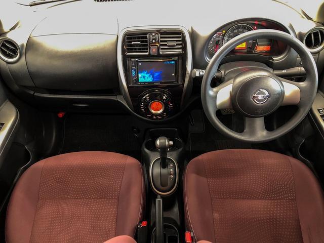 G FOUR 4WD ボルドー内装 寒冷地仕様 禁煙 スマートキー モニター付オーディオ CD DVD ETC オートエアコン 社外アルミホイール 切替パートタイム4WD(4枚目)