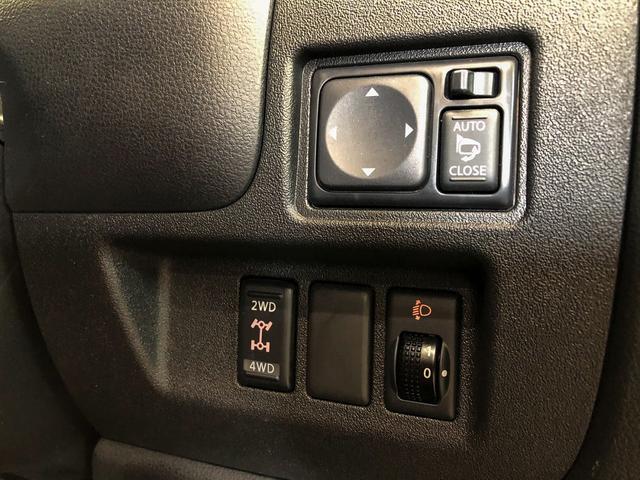 G FOUR 4WD ボルドー内装 寒冷地仕様 禁煙 スマートキー モニター付オーディオ CD DVD ETC オートエアコン 社外アルミホイール 切替パートタイム4WD(19枚目)
