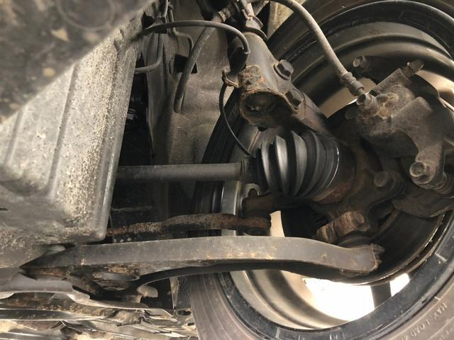G FOUR 4WD ボルドー内装 寒冷地仕様 禁煙 スマートキー モニター付オーディオ CD DVD ETC オートエアコン 社外アルミホイール 切替パートタイム4WD(26枚目)