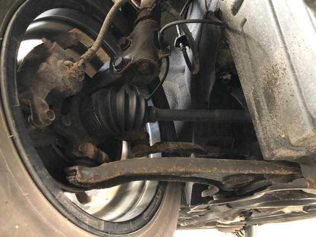 G FOUR 4WD ボルドー内装 寒冷地仕様 禁煙 スマートキー モニター付オーディオ CD DVD ETC オートエアコン 社外アルミホイール 切替パートタイム4WD(27枚目)
