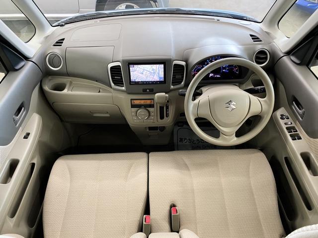 X 4WD スズキセーフティサポート搭載車 禁煙車 SDナビ フルセグTV DVD ETC シートヒーター 左側パワースライド アイドリングストップ スマートキー 横滑り防止 電動格納ミラー 保証書(4枚目)