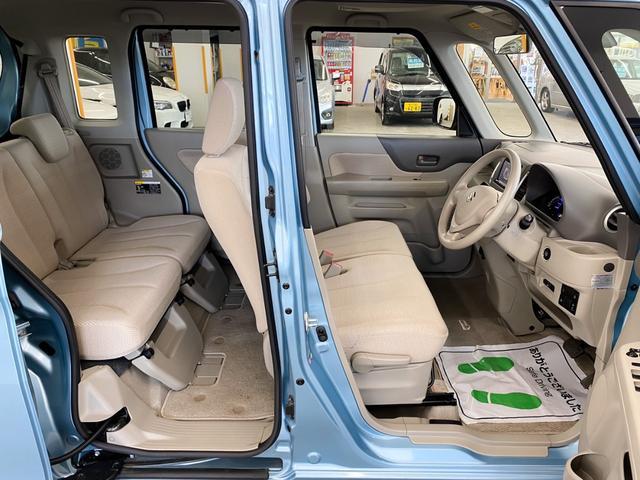 X 4WD スズキセーフティサポート搭載車 禁煙車 SDナビ フルセグTV DVD ETC シートヒーター 左側パワースライド アイドリングストップ スマートキー 横滑り防止 電動格納ミラー 保証書(17枚目)