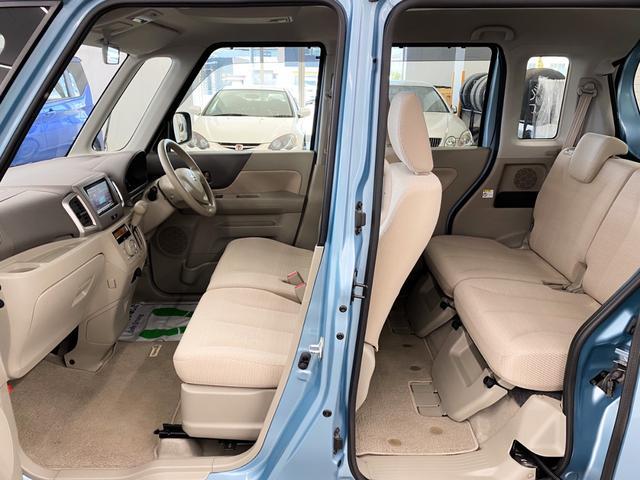 X 4WD スズキセーフティサポート搭載車 禁煙車 SDナビ フルセグTV DVD ETC シートヒーター 左側パワースライド アイドリングストップ スマートキー 横滑り防止 電動格納ミラー 保証書(18枚目)