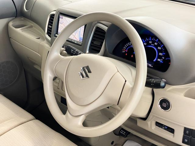 X 4WD スズキセーフティサポート搭載車 禁煙車 SDナビ フルセグTV DVD ETC シートヒーター 左側パワースライド アイドリングストップ スマートキー 横滑り防止 電動格納ミラー 保証書(21枚目)