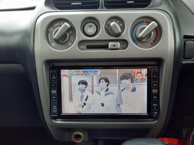 カスタムX 4WDターボ ナビフルセグTV 純正アルミ スマートキー 修復歴無し(11枚目)