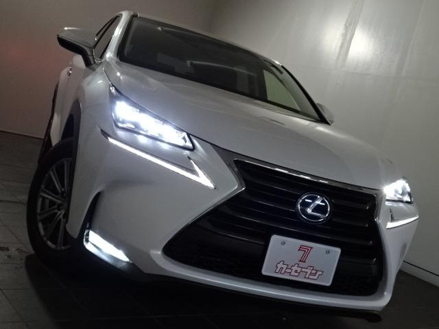 NX300h Iパッケージ 4WD 純正ナビ/TV/革シート(6枚目)