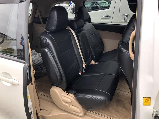 X4WD純正ナビワンセグスタットレスタイヤ付革調シートカバー(11枚目)