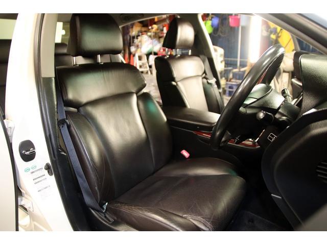 GS3504WDxロクサーニ20AWxローダウンx黒革シート(13枚目)