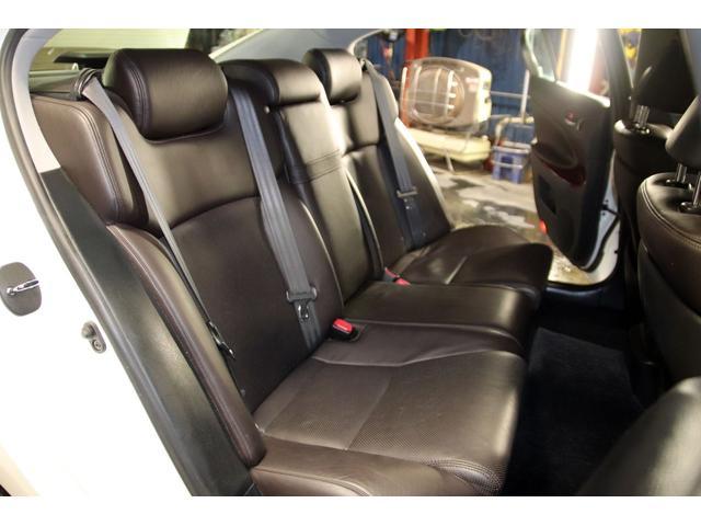 GS3504WDxロクサーニ20AWxローダウンx黒革シート(14枚目)