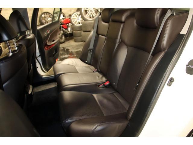 GS3504WDxロクサーニ20AWxローダウンx黒革シート(16枚目)