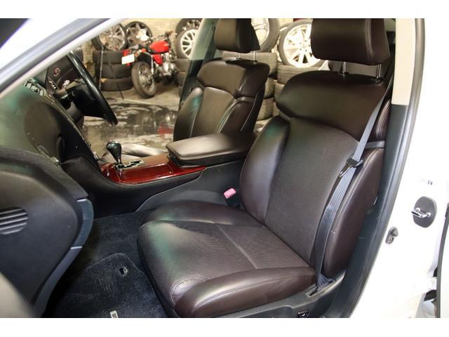 GS3504WDxロクサーニ20AWxローダウンx黒革シート(17枚目)