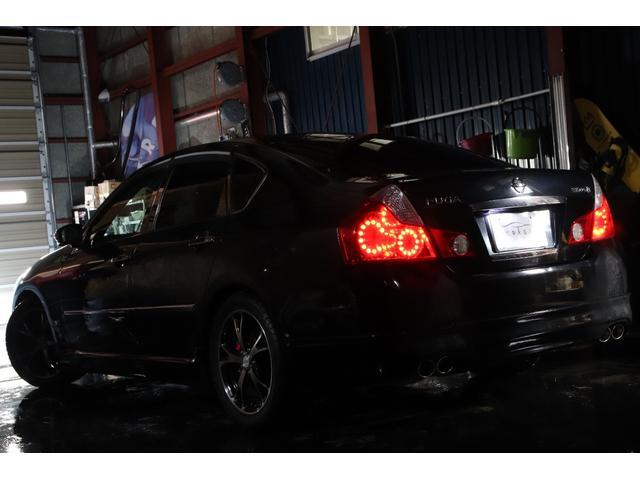 350GTFOUR4WDx車高調x18AWx社外4連マフラー(4枚目)