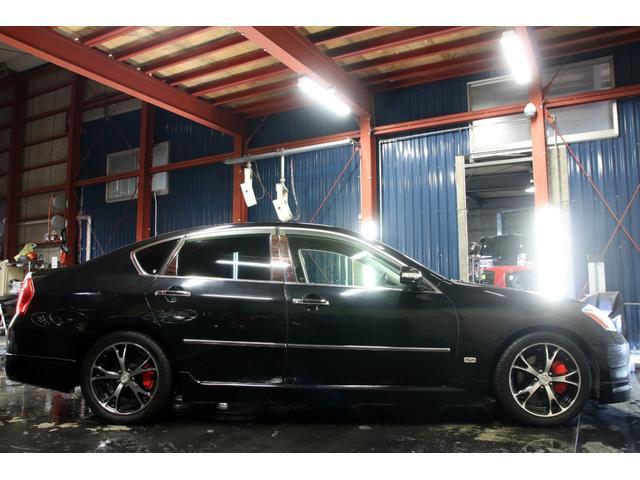 350GTFOUR4WDx車高調x18AWx社外4連マフラー(10枚目)