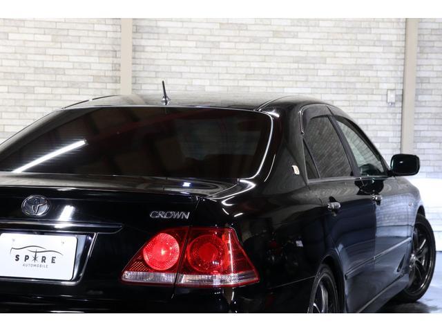 アスリートi-Four4WDx後期x本州仕入x車高調xエアロ 禁煙車 HDDナビ バックカメラ ETC スマートキー タイミングチェーン マフラーカッター ウェルカムランプ パワーシート プラズマクラスター クルーズコントロール ドアバイザー ミラーヒーター(38枚目)