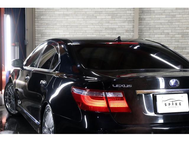 LS600h Iパッケージ4WDx本革xカールソン21AW タイミングチェーン HDDナビ CD ミュージックサーバー バックモニター ETC スマートキー エアシート&ヒーター ステアリングヒーター リアスモーク ドアバイザー ミラーヒーター オールペン(37枚目)