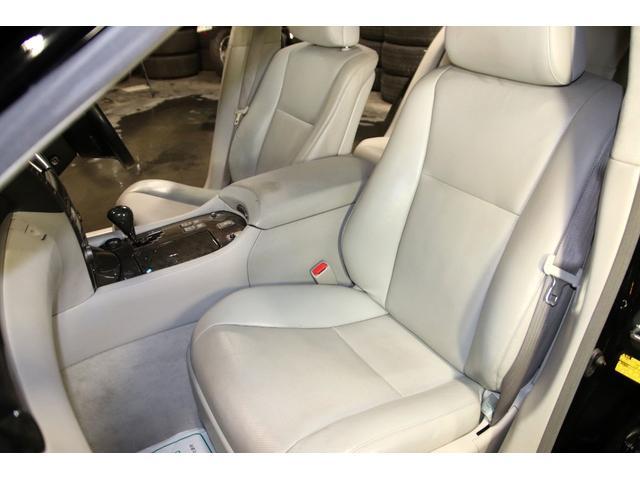 LS600h Iパッケージ4WDx本革xカールソン21AW タイミングチェーン HDDナビ CD ミュージックサーバー バックモニター ETC スマートキー エアシート&ヒーター ステアリングヒーター リアスモーク ドアバイザー ミラーヒーター オールペン(68枚目)
