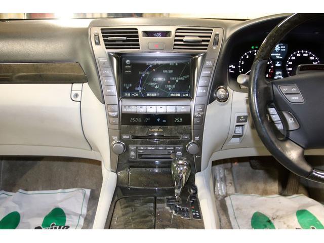 LS600h Iパッケージ4WDx本革xカールソン21AW タイミングチェーン HDDナビ CD ミュージックサーバー バックモニター ETC スマートキー エアシート&ヒーター ステアリングヒーター リアスモーク ドアバイザー ミラーヒーター オールペン(71枚目)