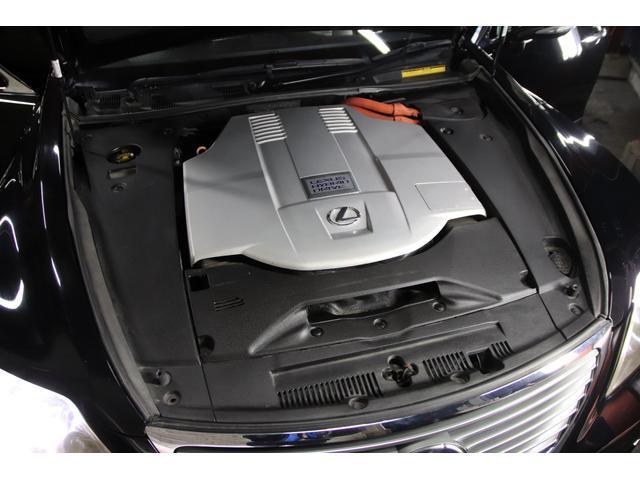 LS600h Iパッケージ4WDx本革xカールソン21AW タイミングチェーン HDDナビ CD ミュージックサーバー バックモニター ETC スマートキー エアシート&ヒーター ステアリングヒーター リアスモーク ドアバイザー ミラーヒーター オールペン(80枚目)