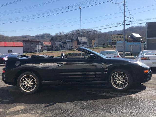 GTS 電動オープン 革シート 左ハンドル 社外AW 本州車(4枚目)