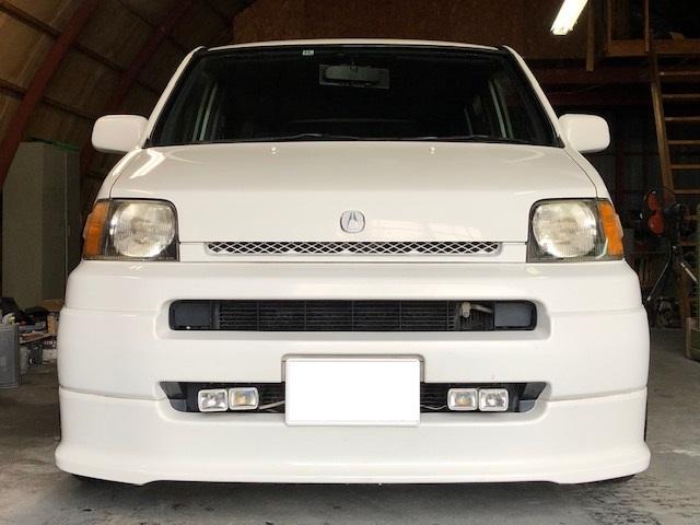 ローダウン 本州車18インチ S2000ステアリング 車高調(2枚目)