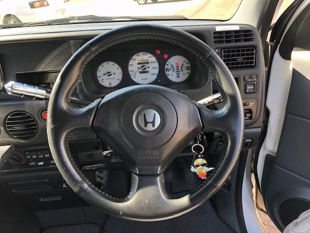ローダウン 本州車18インチ S2000ステアリング 車高調(10枚目)