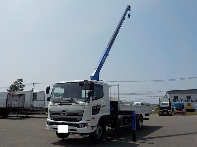 増トン タダノ4段クレーン付平ボデー リーフサス(8枚目)