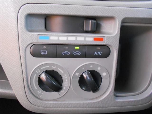 エアコン付きで車内快適!