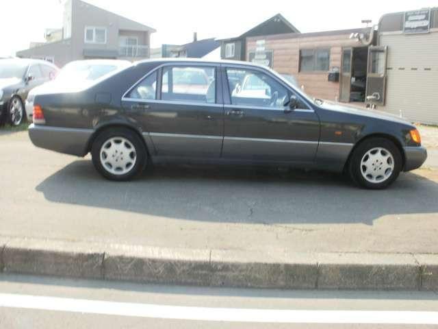 400SEL ディーラー車・黒革シート(4枚目)