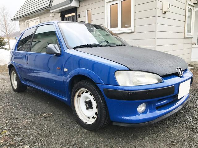 「プジョー」「プジョー 106」「コンパクトカー」「北海道」の中古車4