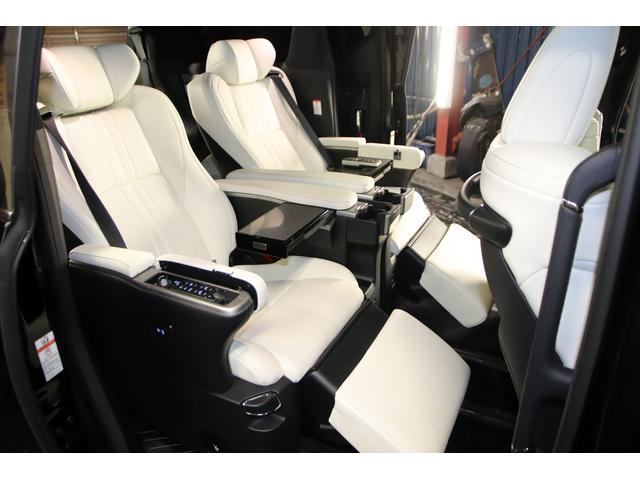エグゼクティブラウンジS 1オーナー プレミアムナッパ白革 TRDエアロ 外21AW 本州仕入 禁煙車 Wサンルーフ エグゼクティブラウンジシート JBLサウンド 12.1型フリップダウンM 両側パワスラ パワーバックドア(12枚目)