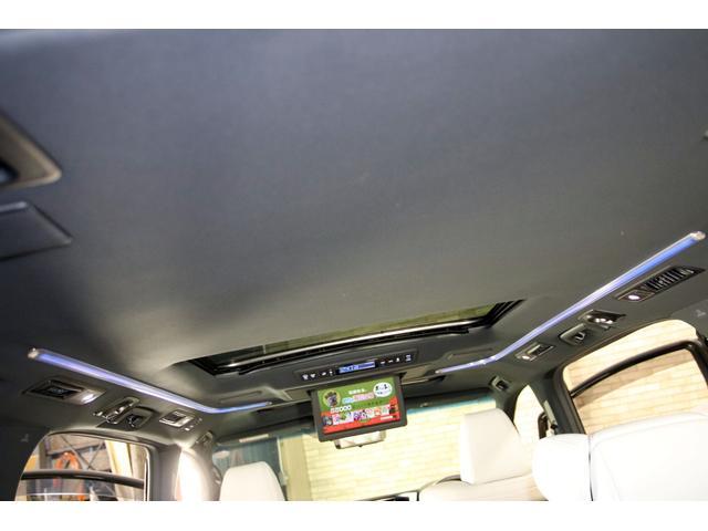エグゼクティブラウンジS 1オーナー プレミアムナッパ白革 TRDエアロ 外21AW 本州仕入 禁煙車 Wサンルーフ エグゼクティブラウンジシート JBLサウンド 12.1型フリップダウンM 両側パワスラ パワーバックドア(17枚目)
