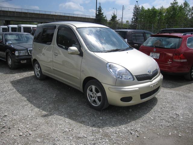 「トヨタ」「ファンカーゴ」「ミニバン・ワンボックス」「北海道」の中古車5