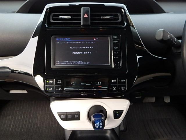 オートエアコンなどボタン一つで機能をON/OFFできる近未来的な設計