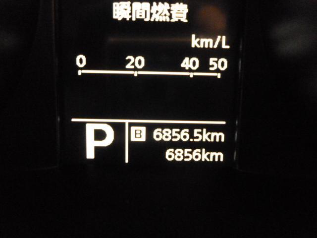 距離数です!安心の新車保証付き!