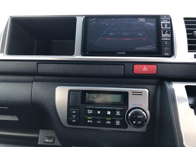 GL 4WD 禁煙車 ワンオーナー アルパインナビ アルパインフリップダウンモニター バックカメラ フルセグTV DVD再生 Bluetooth接続 ETC パワスラ 夏冬タイヤ 社外エンスタ 社外アルミ(18枚目)