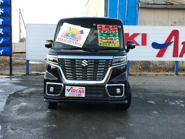 「スズキ」「スペーシアカスタム」「コンパクトカー」「北海道」の中古車2