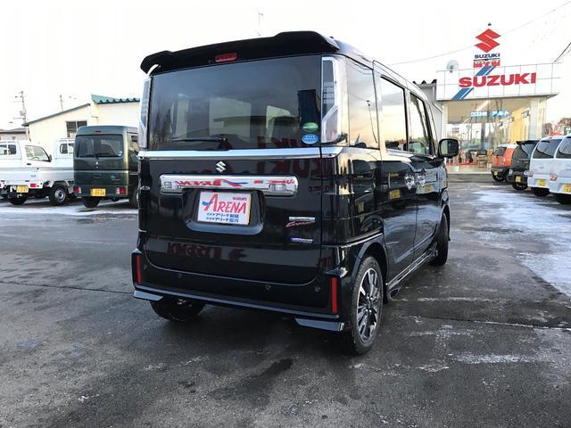 「スズキ」「スペーシアカスタム」「コンパクトカー」「北海道」の中古車6