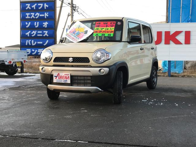 「スズキ」「ハスラー」「コンパクトカー」「北海道」の中古車5