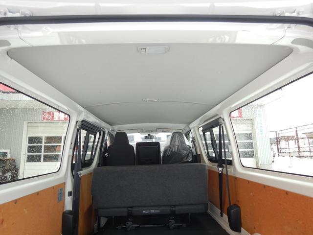 DX 6人 4ドア 4WD 寒冷地仕様 社外メッキミラー フロントバンパー・リヤバンパーホワイト塗装(5枚目)