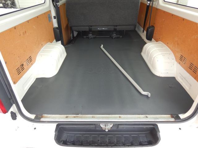 DX 6人 4ドア 4WD 寒冷地仕様 社外メッキミラー フロントバンパー・リヤバンパーホワイト塗装(6枚目)